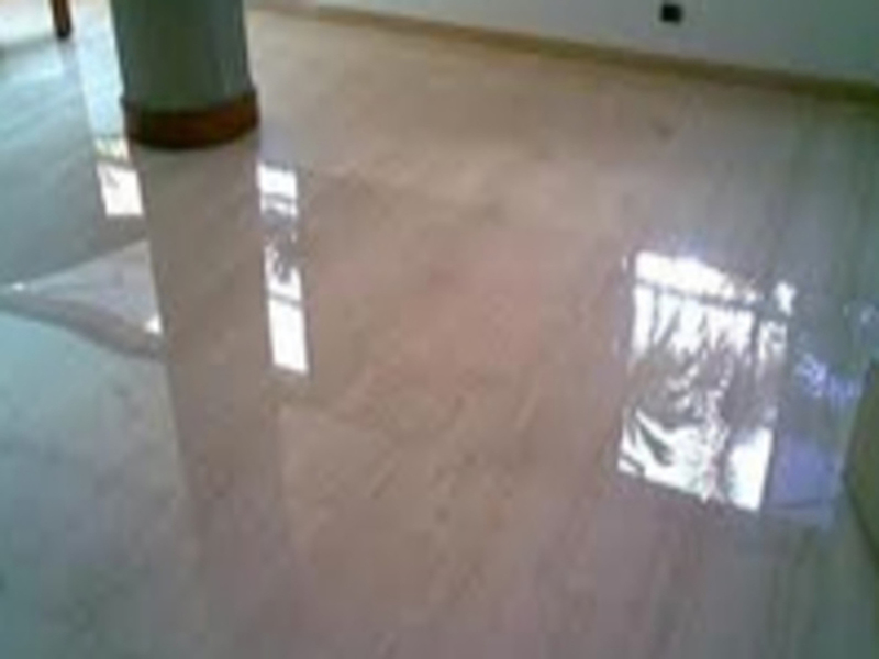 shiny residential floor